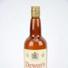 Coleccionismo de vinos y licores: BOTELLA DE WHISKY - DEWAR'S, 12 AÑOS. PURE MALT SCOTCH WHISKY - JOHN DEWAR & SONS, 1965 - #JSW. Lote 124596215