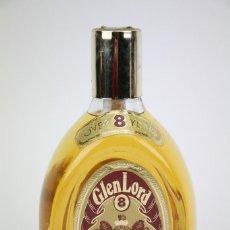 Coleccionismo de vinos y licores: BOTELLA DE WHISKY - GLEN LORD, 8 AÑOS. PURE MALT SCOTCH WHISKY - PRECINTADA - AÑO 1978 - #JSW. Lote 124601107