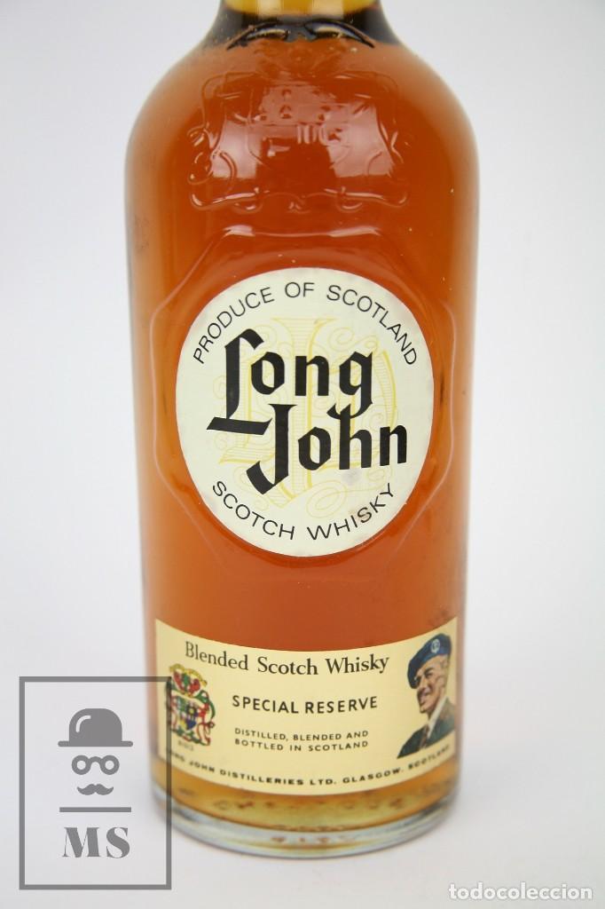 Coleccionismo de vinos y licores: Botella de Whisky Precintada - Long John, 75 cl. Blended Scotch Whisky - Año 1975 - #JSW - Foto 2 - 124716179