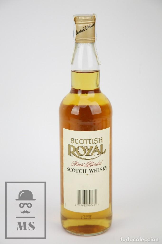 Coleccionismo de vinos y licores: Botella de Whisky Precintada - Scottish Royal, 40º, 70 cl - Blended Scotch Whisky - Año 1998 - #JSW - Foto 4 - 124732079