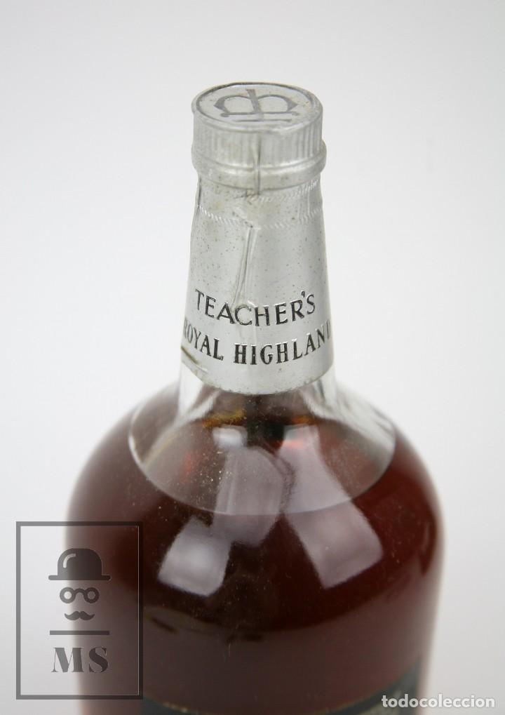 Coleccionismo de vinos y licores: Botella de Whisky Precintada - Teacher's Royal Highland, 12 Años - Blended Scotch - Año 1970 - #JSW - Foto 4 - 125065815