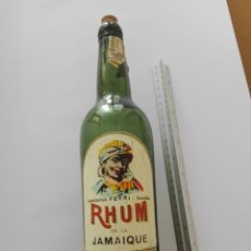 Coleccionismo de vinos y licores: BOTELLA - RHUM DE LA JAMAIQUE - DESTILERIAS FERRI - GANDIA. Lote 126178627