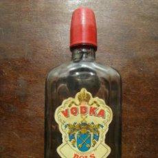Coleccionismo de vinos y licores: BOTELLA DE VIDRIO DE VODKA MARCA BOLS. VACIA. Lote 127453799