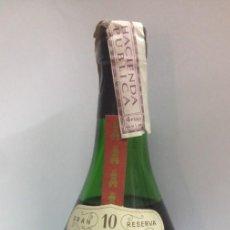 Coleccionismo de vinos y licores: BOTELLA BRANDY TORRES GRAN RESERVA 10 AÑOS IMPERIAL BRANDY VIEILLE FINE IMPUETO 4 PTAS. Lote 127762119