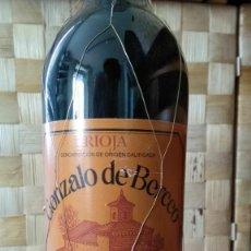 Coleccionismo de vinos y licores: BOTELLA RIOJA GONZALO DE BERCEO GRAN RESERVA 1991.. Lote 128134875