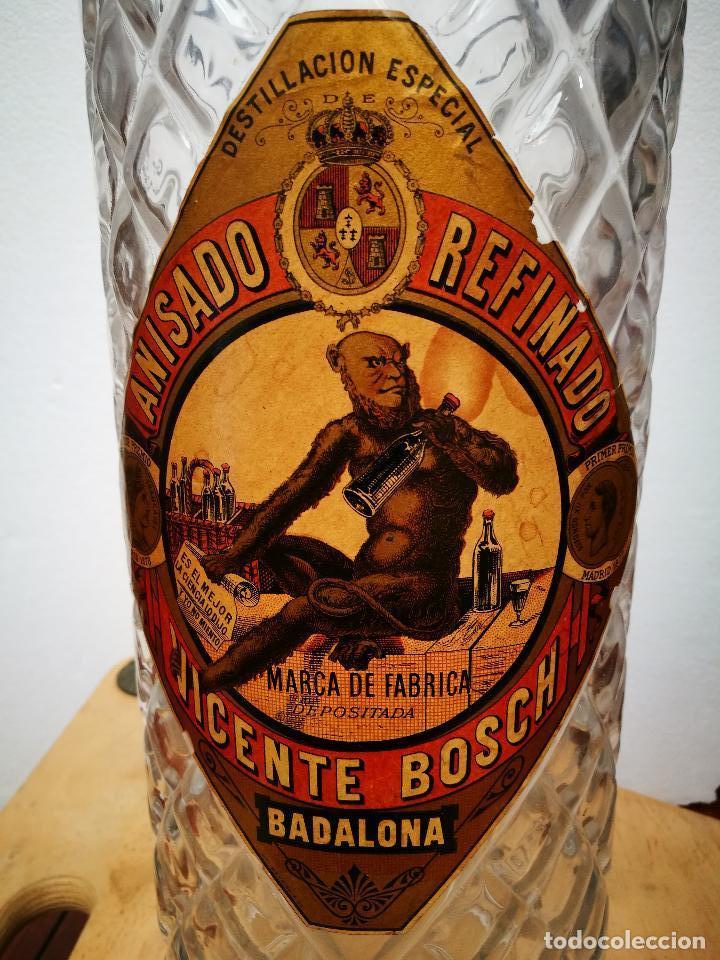 ANÍS DEL MONO,BOTELLA PUBLICITARIA. (Coleccionismo - Botellas y Bebidas - Vinos, Licores y Aguardientes)