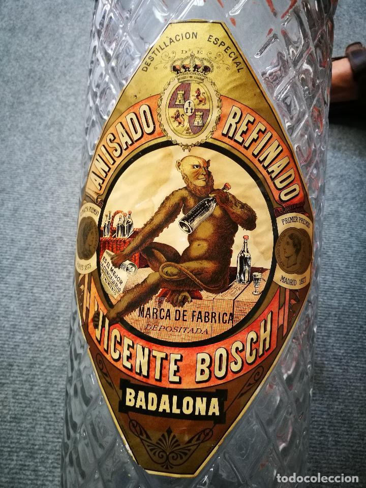 Coleccionismo de vinos y licores: ANÍS DEL MONO,BOTELLA PUBLICITARIA. - Foto 5 - 128631079