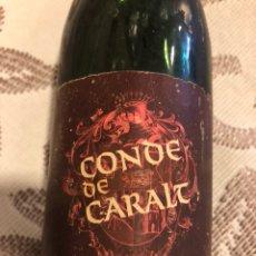 Coleccionismo de vinos y licores: BOTELLA DE VINO TINTO CONDE DE CORALT. RESERVA 1969. Lote 128644520