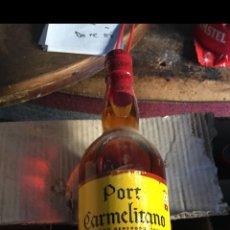 Coleccionismo de vinos y licores: BOTELLA VINO PORT CARMELITANO. Lote 128979038