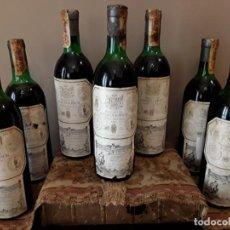 Coleccionismo de vinos y licores: BOTELLA RIOJA HEREDEROS DEL MARQUES DE RISCAL, EL CIEGO (ALAVA) COSECHA 1973 -RIOJA ALAVESA TINTO. 1. Lote 129988563