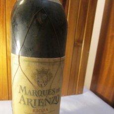 Coleccionismo de vinos y licores: MARQUES DE ARRIENZO GRAN RESERVA 1985 RIOJA . Lote 130566098