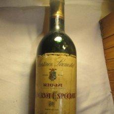 Coleccionismo de vinos y licores: MARTINEZ LACUESTA RESERVA ESPECIAL COSECHA 1978. Lote 130566850