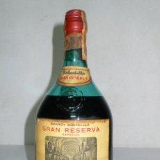 Coleccionismo de vinos y licores: ANTIGUA BOTELLA BRANDY BOBADILLA GRAN RESERVA ESPECIAL. Lote 130996060