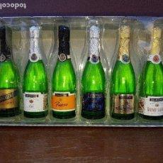 Coleccionismo de vinos y licores: MARTINI - BOTELLITAS EN MINIATURA DE LA CASA ALPA ITALY. Lote 131617962