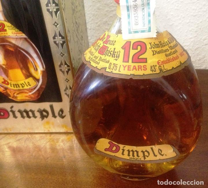 WISHKY DIMPLE 12 YEARS, EN ESTUCHE.-AÑOS 90- PERFECTO ESTADO, SIN ABRIR ,CON PRECINTO- (Coleccionismo - Botellas y Bebidas - Vinos, Licores y Aguardientes)