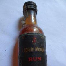 Coleccionismo de vinos y licores: ANTIGUO BOTELLÍN DE RON CAPTAIN MORGAN , VER FOTOS. Lote 131995442