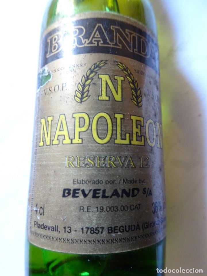 ANTIGUO BOTELLÍN DE BRANDY NAPOLEON, VER FOTOS (Coleccionismo - Botellas y Bebidas - Vinos, Licores y Aguardientes)