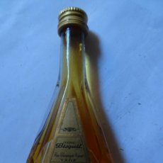 Coleccionismo de vinos y licores: ANTIGUO BOTELLÍN DE COGNAC BISQUIT, VER FOTOS. Lote 132000278