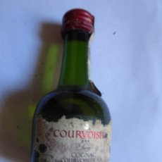Coleccionismo de vinos y licores: ANTIGUO BOTELLÍN DE COGNAC, COUVOURSIER, VER FOTOS. Lote 132002562