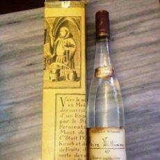 Coleccionismo de vinos y licores: VINO ARTESANAL DE PERA- EAU DE VIE- DESTILERIA J. NUSBAUMER. Lote 132772362