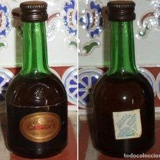 Coleccionismo de vinos y licores: BRANDY CARLOS I DOMEG BOTELLITA MINI BOTELLA. Lote 132847986