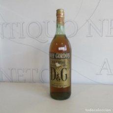 Coleccionismo de vinos y licores: MUY ANTIGUA BOTELLA BRANDY O COÑAC DUFF GORDON. Lote 132875950