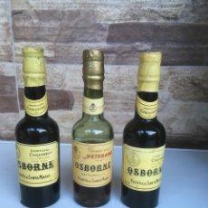 Coleccionismo de vinos y licores: BOTELLAS VETERANO OSBORNE. Lote 133324918