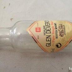 Coleccionismo de vinos y licores: GLEN DEVERONWHISKY MALTAVACIAMINI BOTELLA, BOTELLITA, BOTELLIN. Lote 133586878