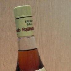 Coleccionismo de vinos y licores: BRANDY ESPLENDIDO GARVEY. BRANDY SOLERA.. Lote 133611686