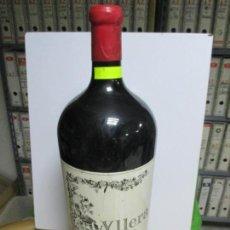 Coleccionismo de vinos y licores: BOTELLÓN DE 12 LITROS DE VINO TINTO. YLLERA 1999. VINO DE LA TIERRA DE CASTILLA Y LEÓN. . Lote 134147250