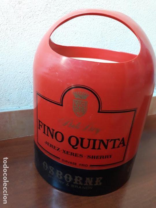 CUBITERA OSBORNE FINO QUINTA (Coleccionismo - Botellas y Bebidas - Vinos, Licores y Aguardientes)