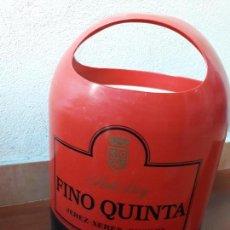 Coleccionismo de vinos y licores: CUBITERA OSBORNE FINO QUINTA. Lote 135348850