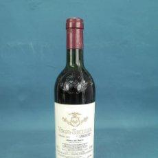 Coleccionismo de vinos y licores: EXTRAORDINARIA BOTELLA VEGA SICILIA (UNICO) BOTELLA Nº 22709 COSECHA 1975 EN BUENAS CONDICIONES. Lote 135765738