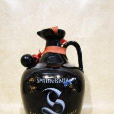 Coleccionismo de vinos y licores: ANTIGUA BOTELLA SCOTCH WHISKY SPRINGBANK SIN ABRIR. Lote 145945385
