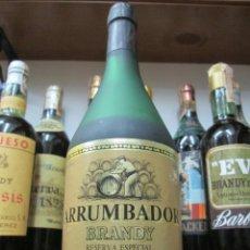 Coleccionismo de vinos y licores: ANTIGUA BOTELLA BRANDY COÑAC, ARRUMBADOR RESERVA ESPECIAL.. Lote 136034750