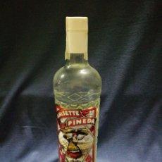 Coleccionismo de vinos y licores: BOTELLA ANISETTE PINEDA. Lote 136588648