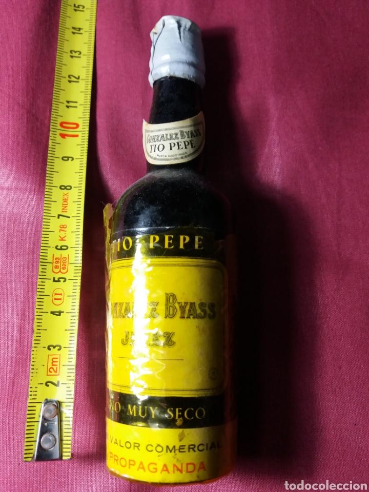 TIO PEPE GONZALEZ BYASS. JEREZ (Coleccionismo - Botellas y Bebidas - Vinos, Licores y Aguardientes)