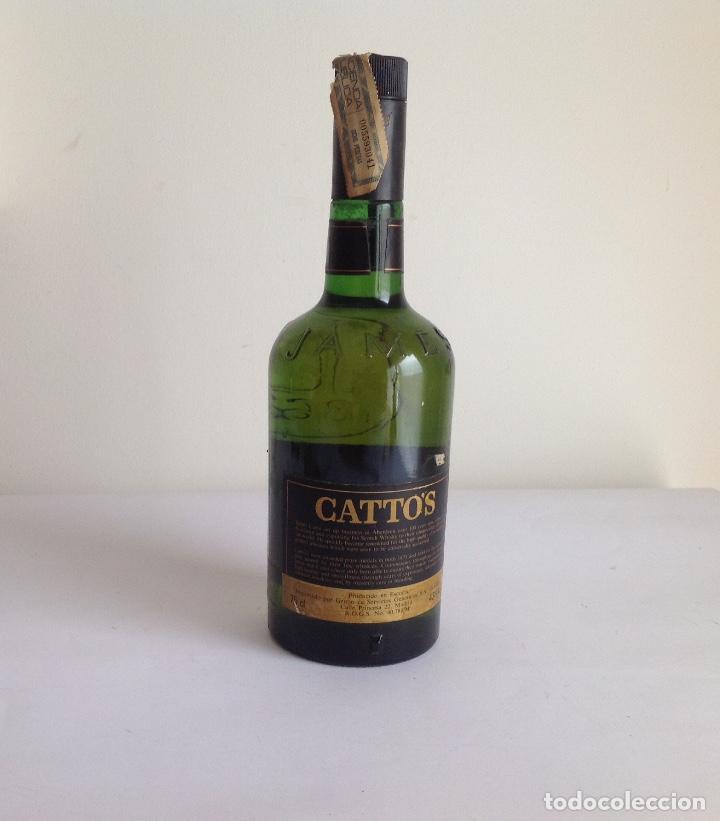 Coleccionismo de vinos y licores: Botella Whisky Catto's.Scotland. - Foto 2 - 138741546