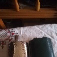 Coleccionismo de vinos y licores: PETACA, ALEMANA TIN LINED. Lote 138956737