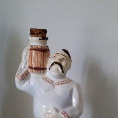 Coleccionismo de vinos y licores: ANTIGUA BOTELLA RUSA DE PORCELANA .CON SU CORCHO ORIGINAL.EXCELENTE ESTADO. Lote 139401662