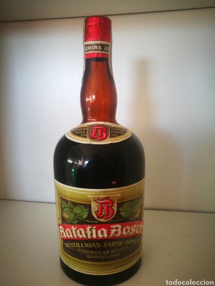 RATAFIA BOSCH (PRECINTO 80 CÉNTIMOS)EXCLUSIVA (Coleccionismo - Botellas y Bebidas - Vinos, Licores y Aguardientes)
