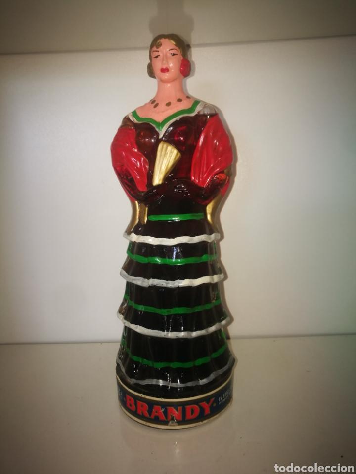 BRANDY DESTILERIAS MONTAÑA (EXCLUSIVA) (Coleccionismo - Botellas y Bebidas - Vinos, Licores y Aguardientes)
