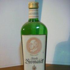 Coleccionismo de vinos y licores: BOTELLA DE LICOR FURFT BISMARCE (BOTELLA DE COLECCION ) . Lote 140545210