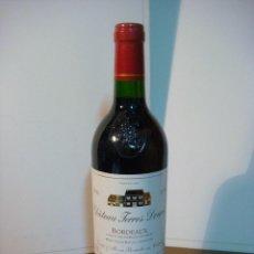 Coleccionismo de vinos y licores: BOTELLA DE LICOR CHATEAU TERRES DOUCES 1996 (BOTELLA DE COLECCION ) . Lote 140545818