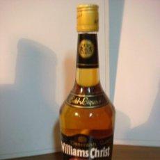 Coleccionismo de vinos y licores: BOTELLA DE LICOR WILLIAMS CHRIST (BOTELLA DE COLECCION ) . Lote 140546010