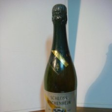 Coleccionismo de vinos y licores: BOTELLA DE LICOR SCHLOSS WACHENHEIM GRUN CABINET (BOTELLA DE COLECCION ) . Lote 140546258