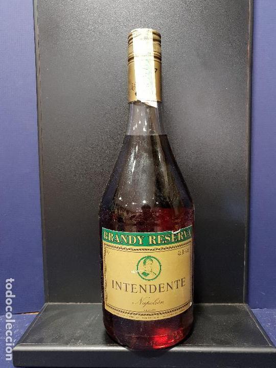 BRANDY RESERVA INTENDENTE NAPOLEÓN. (Coleccionismo - Botellas y Bebidas - Vinos, Licores y Aguardientes)