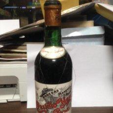 Coleccionismo de vinos y licores: ANTIGUA BOTELLA VINO SIN ABRIR CASTILLO YGAY BODEGAS MARQUES MURRIETA 1942 RESERVA ESPECIAL LOGROÑO. Lote 142136410
