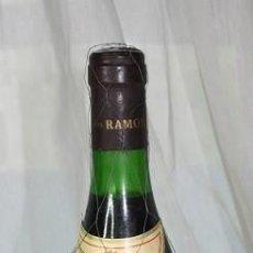 Coleccionismo de vinos y licores: 68, BOTELLA DE VINO RIOJA VIÑA TURZABALLA COSECHA 1.968 BODEGAS RAMON BILBAO ELABORACION ESPECIAL . Lote 143448978