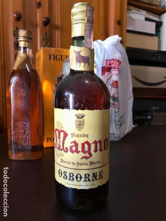 BRANDY MAGNO OSBORNE 4 PTS (Coleccionismo - Botellas y Bebidas - Vinos, Licores y Aguardientes)
